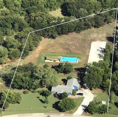 Denton County Single Family Home For Sale: 9081 Culp Branch Road