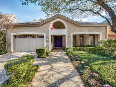 Dallas Single Family Home For Sale: 17310 Club Hill Drive