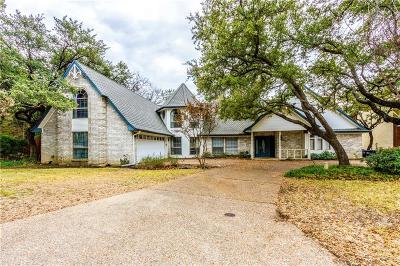 Tarrant County Single Family Home Active Option Contract: 8809 Random Road