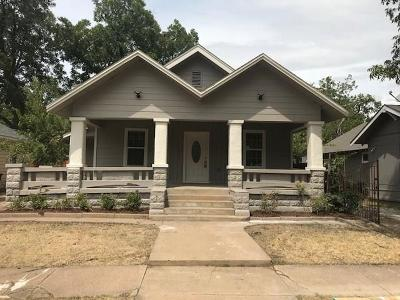 Fort Worth Single Family Home For Sale: 2108 May Street