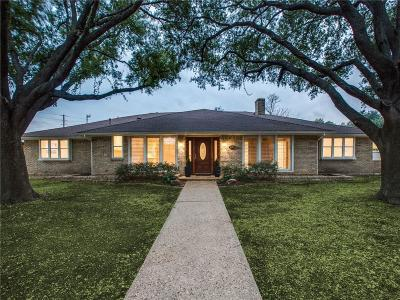 Dallas Single Family Home For Sale: 4398 Shady Bend Drive