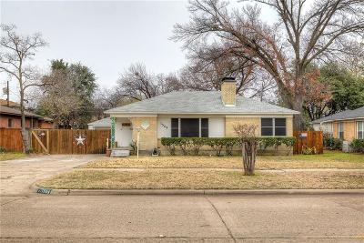 Dallas Single Family Home For Sale: 1509 W Saner Avenue