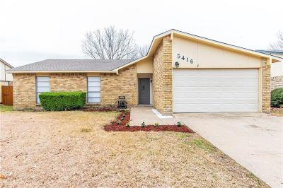The Colony Single Family Home For Sale: 5416 Slay Drive