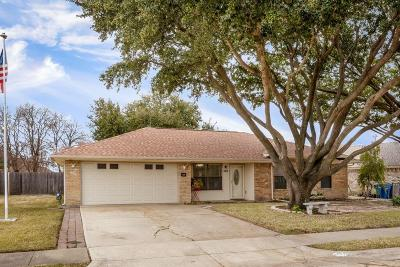 Sachse Single Family Home For Sale: 3815 6th Street