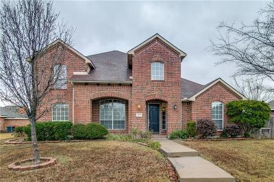 Rowlett Single Family Home For Sale: 3109 Bluewood Drive