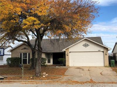 Arlington Single Family Home For Sale: 6807 Blackberry Drive