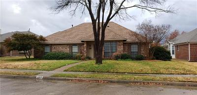 Allen Single Family Home For Sale: 1408 Quail Run Drive