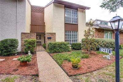 Dallas Townhouse For Sale: 9231 Chimney Corner Lane