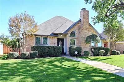 Dallas County, Denton County Single Family Home Active Option Contract: 3634 Amanda Circle