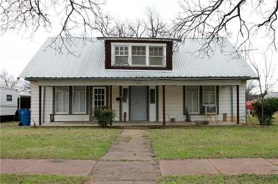 Cisco Single Family Home For Sale: 607 W 9th Street