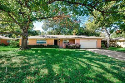 Single Family Home For Sale: 10235 Gooding Drive