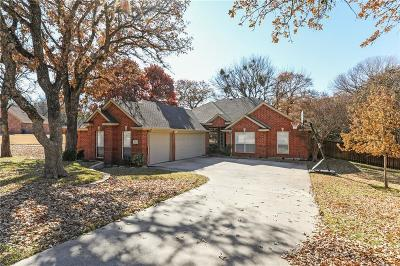 Azle Single Family Home For Sale: 1801 Spinnaker Lane