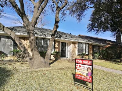 Dallas Single Family Home For Sale: 7109 Blue Field Drive