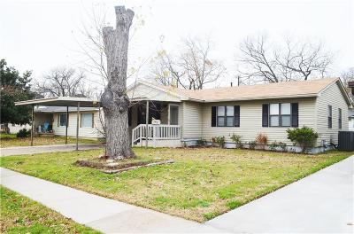 Irving Single Family Home For Sale: 2223 Dewitt Street