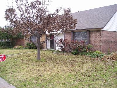 Garland Single Family Home For Sale: 1021 Mill River Drive