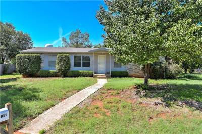 Denton County Single Family Home For Sale: 59 Carriage Wheel