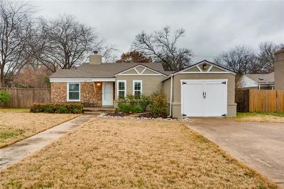 Tarrant County Single Family Home For Sale: 6413 Calmont Avenue