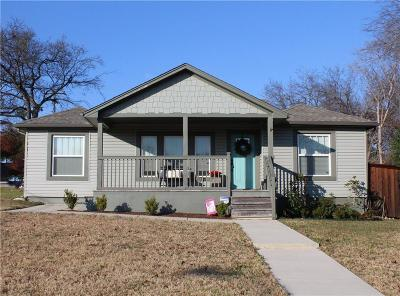 Fort Worth Single Family Home For Sale: 4136 Lovell Avenue