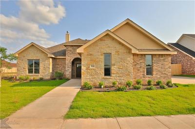 Abilene Single Family Home For Sale: 3341 Front Nine