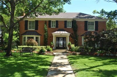 Highland Park, University Park Single Family Home For Sale: 3525 Caruth Boulevard
