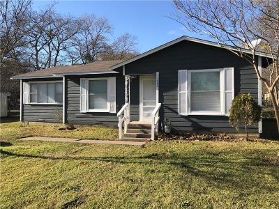 Terrell Single Family Home For Sale: 1605 Harrisee Street