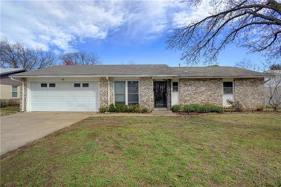 North Richland Hills Single Family Home Active Option Contract: 5324 Roberta Drive