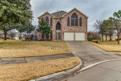 Denton County Single Family Home For Sale: 1408 Palmares Court