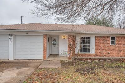 Benbrook Single Family Home For Sale: 1121 Timbercreek Road