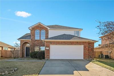 Justin Single Family Home For Sale: 418 Goodnight Trail