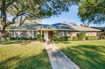 Plano Single Family Home Active Option Contract: 2505 Briarwood Drive