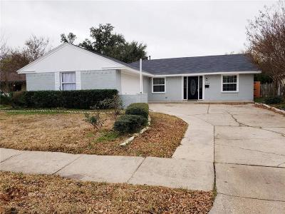 Garland Single Family Home For Sale: 5029 Leameadow Drive