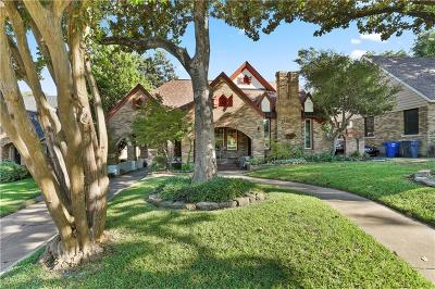 Dallas Single Family Home For Sale: 6300 Tremont Street