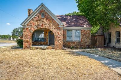 Tarrant County Single Family Home For Sale: 4036 El Campo Avenue
