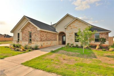 Abilene Single Family Home For Sale: 3342 Double Eagle