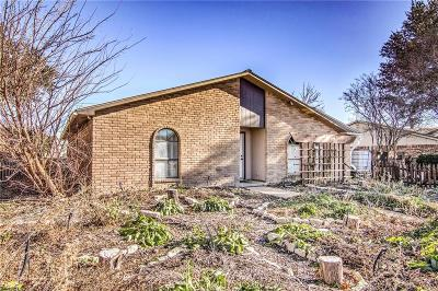 Plano Single Family Home Active Option Contract: 3928 Dickens Drive
