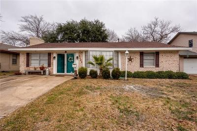 Mesquite Single Family Home For Sale: 4402 Live Oak Drive