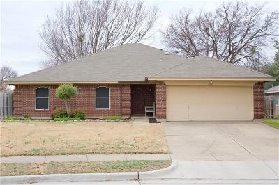 Keller Single Family Home Active Option Contract: 702 Opelousas Court S
