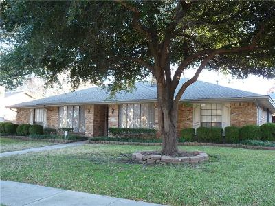 Plano Single Family Home Active Contingent: 1608 Lake Side Lane