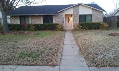 Garland Single Family Home For Sale: 3005 Shenandoah Drive