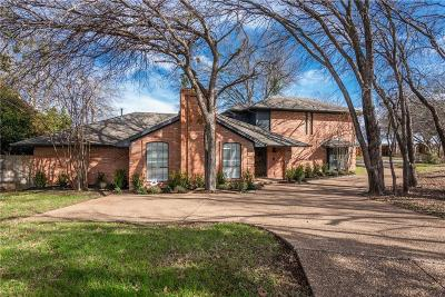 Fort Worth Single Family Home For Sale: 3550 Wind River Court