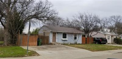 Garland TX Single Family Home For Sale: $89,900