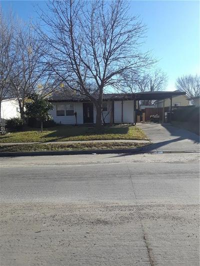 Garland TX Single Family Home For Sale: $140,000