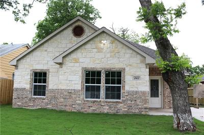 Dallas Single Family Home For Sale: 2411 Crest Avenue