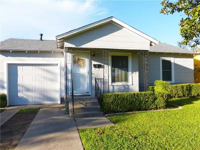 Fort Worth Single Family Home For Sale: 5032 Geddes Avenue