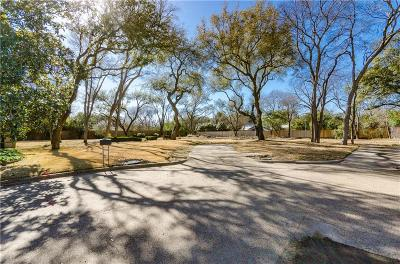 Dallas County Residential Lots & Land For Sale: 5006 Pebblebrook Drive
