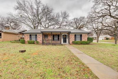 Hurst Single Family Home Active Option Contract: 825 W Redbud Drive