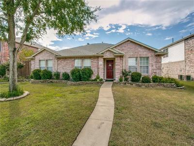 Allen Single Family Home For Sale: 921 Thistle Circle
