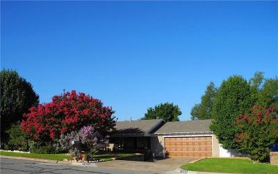 Hurst Single Family Home Active Option Contract: 1233 Karla Drive