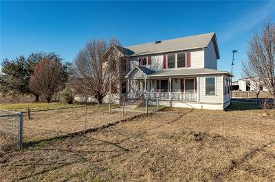 Archer County, Baylor County, Clay County, Jack County, Throckmorton County, Wichita County, Wise County Single Family Home Active Option Contract: 2454 County Road 2320