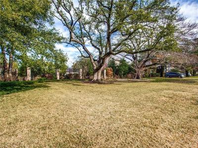 Dallas County Residential Lots & Land For Sale: 6223 Lupton Drive